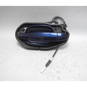 2006-2010 BMW E60 E61 5-Series Left Rear Exterior Door Handle Deep-Sea Blue OEM