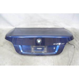 2008-2010 BMW E60 5-Series Sedan Late Rear Trunk Deck Boot Lid Deep-Sea Blue OEM