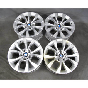 "2013-2015 BMW E84 X1 SAV Factoy 17"" Style 318 V-Spoke Alloy Wheel Set of 4 OEM"