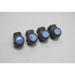2008-2013 BMW E60 5-Series E70 Parking Distance Control PDC Sensor Set Blue