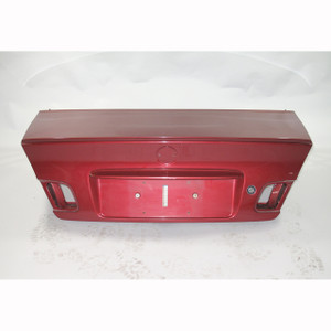2000-2006 BMW E46 3-Series Coupe Rear Trunk Lid w/ Spoiler Hinges Sienna Red OE