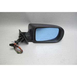 1995-2001 BMW E38 7-Series Right Outside Side Mirror Gloss Black Anthacite USED