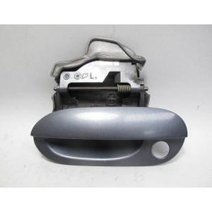 1999-2001 BMW E38 7-Series Left Front Exterior Outside Door Handle Anthracite