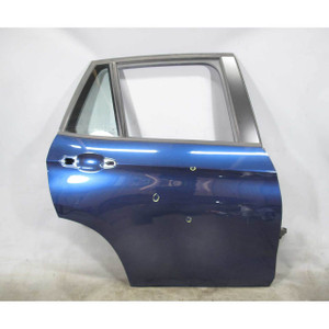 13-15 BMW E84 X1 SAV Right Rear Passenger Exterior Door Shell Deep-Sea Blue OEM