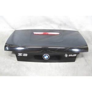 1996-1999 BMW Z3 Roadster Rear Trunk Deck Boot Lid Black 2 w 3rd Stop Lamp OEM