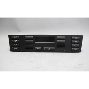 2001-2003 BMW E39 5-Series Late Model Automatic Cimate Control Interface Panel