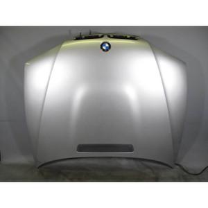 BMW E46 3-Series M3 ///M Front Aluminum Hood Bonnet Panel Titan Silver 2001-2006