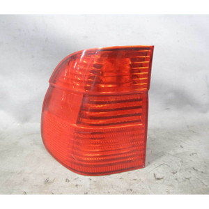 Damaged 01-03 BMW E39 5-Series Touring Wagon Left Rear Outer Tail Light Lamp OEM