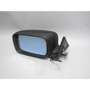 1993-1995 BMW E34 5-Seires Left Outside Side Mirror Heat Black Late Model OEM