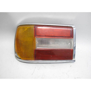 1974-1976 BMW 114 2002 Late Model Left Rear Drivers Tail Light w Cracks Square