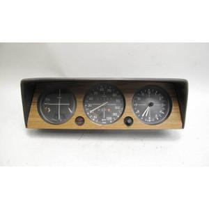 1968-1973 BMW 114 2002 2002tii Instrument Gauge Cluster MPH Clock Temp Speedo OE