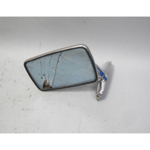 Damaged 1968-1976 BMW 114 2002 Left LHD Driver's Flag Chrome Outside Side Mirror