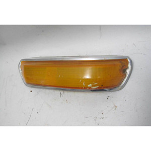 1968-1976 BMW 114 2002 2002tii Right Front Turn Signal Lens Trim Cover OEM