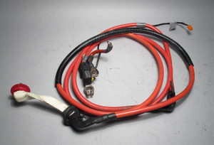 BMW E39 5-Series Touring Wagon Positive Battery Cable w Fuse 1999-2003 USED OEM