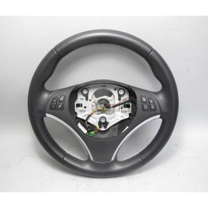 2011-2013 BMW E92 3-Series Coupe Factory Sports Leather Steering Wheel Multi OEM