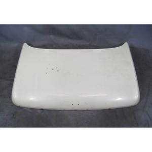 1967-1976 BMW 114 1602 2002 Coupe Rear Trunk Deck Lid Cover Chamonix White