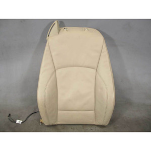 BMW E85 E86 Z4 Right Front Seat Leather Pad Backrest Beige Heat 2003-2008 OEM