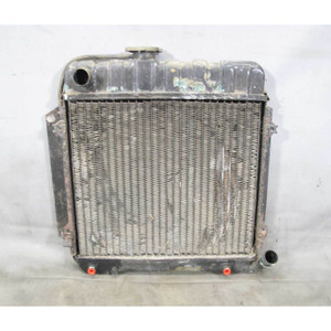 1968-1976 BMW 114 1602 2002 LR Factory Radiator w Trans Oil Cooler w Dents OEM