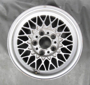 BMW E34 5-Series E32 Factory Style 5 One-Piece Cross-Spoke Alloy Wheel 1988-1995 - 11288