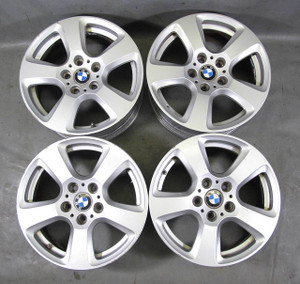 "BMW E60 5-Series xDrive 17"" 17x7.5 Style 243 Factory 5 Spoke Wheel Set of 4 OEM - 12873"