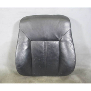 BMW E39 E38 Front Seat Back Rest Left Right Black Montana Leather Heat 1995-1998 - 16600