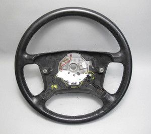 BMW E38 E39 5-Series Factory Standard Leather Steering Wheel w Heating 1999-2001 - 14747