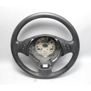 BMW E90 E91 3-Series Factory Heated Multifunction Steering Wheel Leather 06-12 - 17849