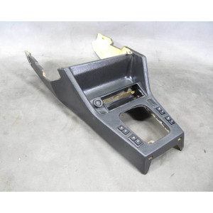 1984-1993 BMW E30 3-Series Front Center Console Cubbie Dark Grey USED OEM - 17995