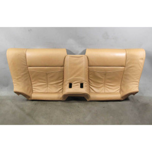 2008-2010 BMW E63 E64 650i Factory Rear seat Bottom Bench Saddle Brown Precision - 18044