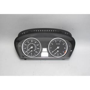 BMW E63 E64 645i 650i V8 Instrument Gauge Cluster Panel Speedo Tach 2004-2010 OE - 18059