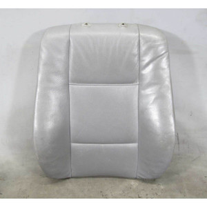 1999-2005 BMW E46 3-Series 4door Front Seat Backrest Cushion Pad Grey Leather OE - 18916