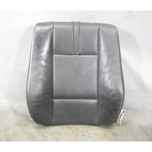 2004-2006 BMW E83 X3 SAV Early Front Seat Backrest Cushion Black Leather Heat OE - 19164