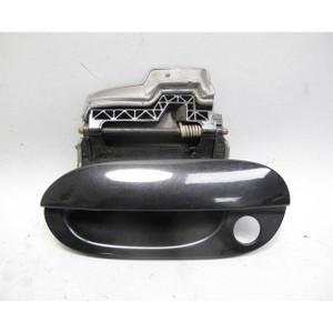 97-03 BMW E39 5-Series Left Front Exterior Door Handle Plastic Black Sapphire OE - 19355