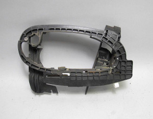 BMW E65 E66 7-Series Right Front Passenger Door Lock Frame Carrier Exterior USED - 12131