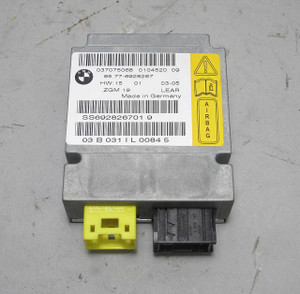 BMW E65 E66 7-Series Early Airbag Module Sensor Gateway 2002-2004 USED OE Yellow - 12255