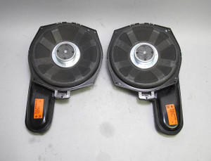 BMW E64 6-Series Convertible Factory DSP Professional Stereo HiFi Subwoofer Pair - 13091