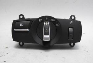 2010-2015 BMW 5-Series 7-Series Basic Headlight Lighting Control Switch Element - 15166