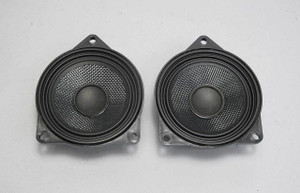 2011-2017 BMW Top-HiFi Factory DSP Professional Stereo Mid-Range Speaker Pair OE - 15376