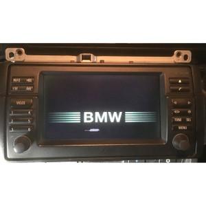 BMW E46 2000-2005 Widescreen CD Navigation Monitor w Dead Pixels Screen Display - 16643