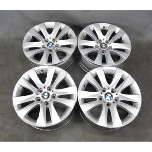 "2006-2013 BMW E90 3-Series Factoy 17"" Style 338 V-Spoke Alloy Wheel Set of 4 OEM - 19444"