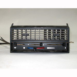 BMW1968-1974 E9 2800CS 3.0CS Climate Heater Control Faceplate Dash Center Vent - 19364