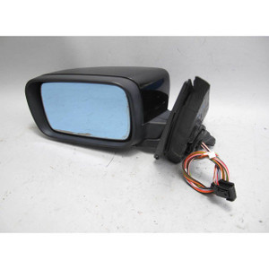 1998-2003 BMW E39 5-Series Left Outside Side Mirror Black Sapphire Memory Heat - 19370