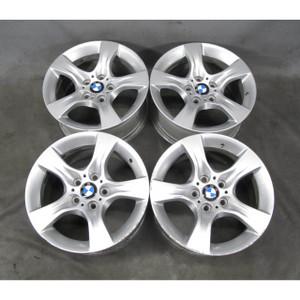 2006-2013 BMW E90 3-Series E92 Factory 17x8 Star Spoke Style 339 Alloy Wheel Set - 19419