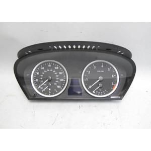 BMW E60 5-Series 6-Cyl Instrument Gauge Cluster Panel Speedo Tach 2006-2010 192k - 19435