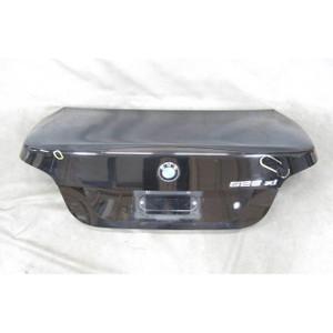 BMW 2004-2010 E60 5-Series Sedan Trunk Deck Boot Lid Black 2 2004-2007 OEM USED - 19488