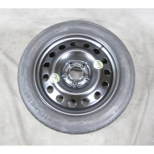"""BMW E60 5-Series X3 17"""" 17x4 Compact Spare Wheel and Tire 2004-2010 USED OEM - 19492"""