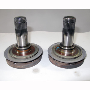 BMW 1997-2001 E39 E38 Rear Differential Output Flange Pair 102mm Short Ratio - 19504