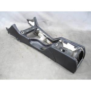 2000-2003 BMW E39 M5 ///M Sedan Factory All-Leather Center Console Black Napa OE - 19538