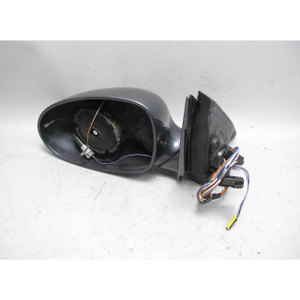 Damaged 2000-2003 BMW E39 M5 Left Outside Power Fold Side Mirror Anthracite OE - 19583