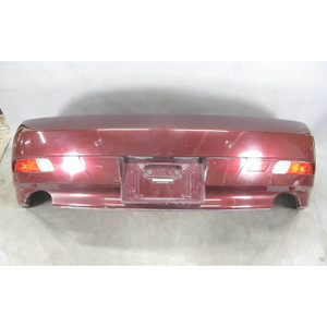 2004-2007 BMW E63 E64 6-Series Early Factory Rear Bumper Cover PDC Barbera Red - 19594